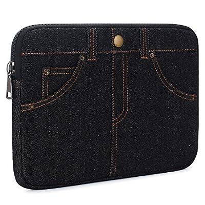 KIZUNA 11-15.6 inch Fashion Multiple Storage Laptop Sleeve Case Tablet Bag