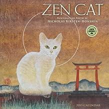 Zen Cat: Paintings and Poetry by Nicholas Kirsten-Honshin 2015 Wall Calendar