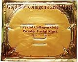 6 maschere viso oro in bio-collagene, anti-età e idratanti