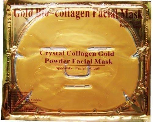 6 xgold bio-kollagen Gesichtsmaske, Anti-Aging, feuchtigkeitsspendend, befeuchtend Gesichts Maske