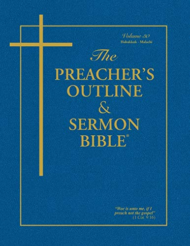Compare Textbook Prices for The Preacher's Outline & Sermon Bible: Habakkuk - Malachi  ISBN 9781574072419 by Worldwide, Leadership Ministries