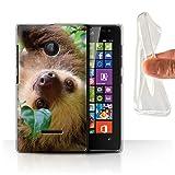 Handy Hülle kompatibel mit Microsoft Lumia 532 Wildes Tier