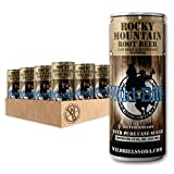 Wild Bill's Root Beer Soda, Pure Cane Sugar, 12 Fl Oz Cans (Pack of 12)