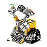 ElevenY 687PCS RC Robot Wall E Building Set Remote Control Blocks Kits Bricks Toy for Children Adult Birthday Christmas Collection Gift ( Size : Normal Version )