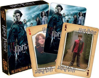 Harry Potter(ハリー・ポッター)Harry Potter and the Goblet of Fire(ハリー・ポッターと炎のゴブレット)Playing Card(トランプ) [並行輸入品]