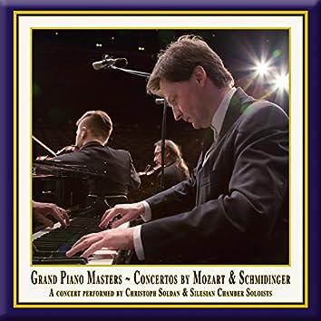 """Mozart: Piano Concertos Nos. 13 & 14 - Schmidinger: Concertino for Piano & String Quintet """"A piacere"""""""