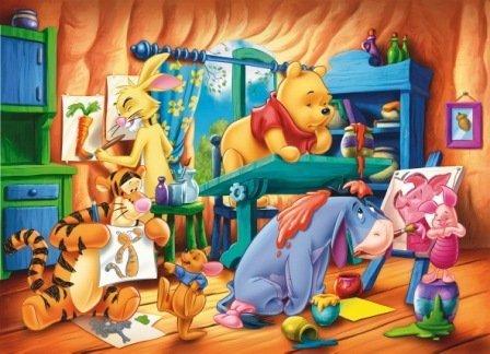 Clementoni - Puzzle Infantil de Winnie The Pooh (60 Piezas)