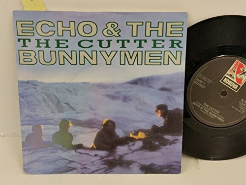 ECHO & THE BUNNYMEN the cutter, PICTURE SLEEVE, 7 inch single, KOW 26