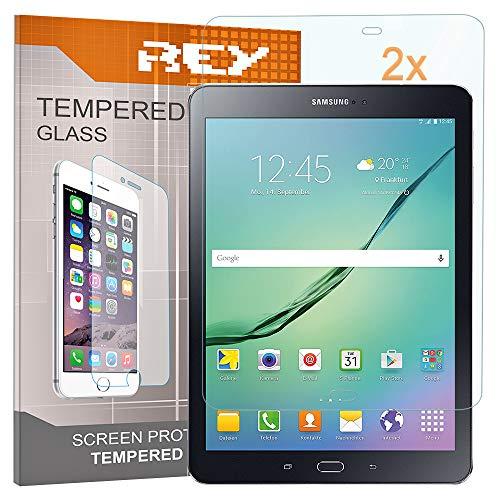 """Pack 2X Panzerglas Schutzfolie für Samsung Galaxy TAB S2 9,7\"""", Displayschutzfolie 9H+ Härte, Anti-Kratzen, Anti-Öl, Anti-Bläschen"""