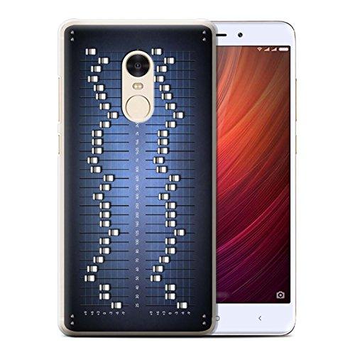Carcasa/Funda STUFF4 dura para el Xiaomi Redmi Note 4 / serie: Tecnología retro - Ecualizador gráfico/eq