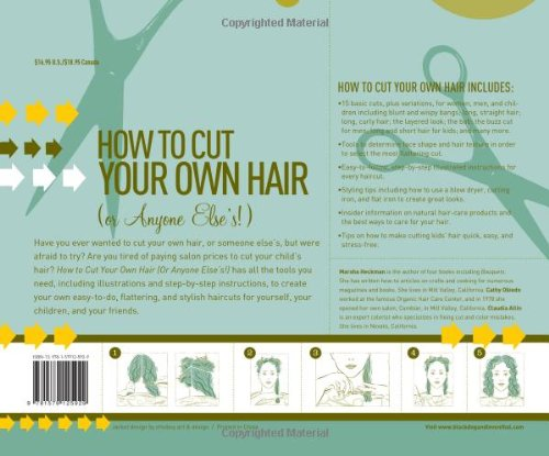 How to Cut Your Own Hair (Or Anyone Else's!): 15 haircuts with variations