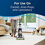 Bissell 78H63 Deep Clean Pro 4X Deep Cleaning Concentrated Carpet Shampoo, 48 ounces - Silver 10 Every BISSELL purchase helps save pets. BISSELL proudly supports BISSELL Pet Foundation and its mission to help save homeless pets. Our most powerful formula for tough, ground-in dirt and stains. Removes tough odors.