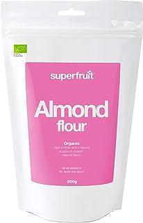 Superfruit Bio Mandelmehl, Keto, Glutenfrei, Vegan, für Low Carb Ernährung, 500g