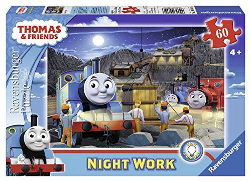 Ravensburger Thomas & Friends 60-Piece Night Work Glow-In-The-Dark Jigsaw Puzzle