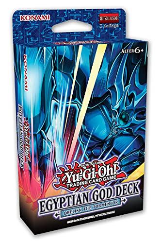 Yu-Gi-Oh! TRADING CARD GAME Deck de dieux égyptiens : obélisque des Peiniger - Édition allemande
