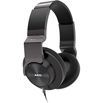 AKG K545 密閉型ヘッドホン ポータブル リファレンスクラス ブラック K545BLK【国内正規品】 [並行輸入品]