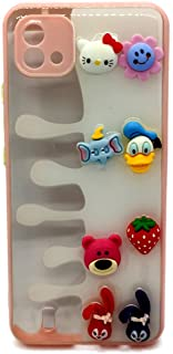 Back Cover Cartoon 3D Toys For Realme C11 2021 - Pink