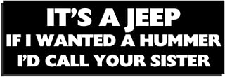 Best it's a jeep thing bumper sticker Reviews