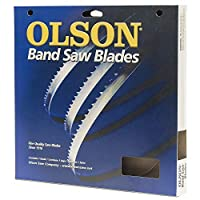 OlsonのこぎりWB57256BL 56-1 / 8インチ幅3/8幅で4歯あたり1インチあたりバンド幅のこぎり