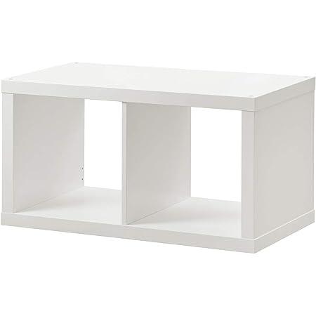 Ikea KALLAX estantería de Pared Blanco; (77 x 42 cm): Amazon ...
