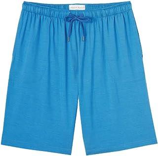 Derek Rose Basel Micro Modal Shorts Men's Casual Lounge Bottoms, Blue