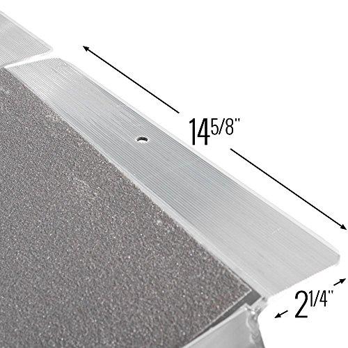 Rage Powersports Silver Spring WCMF-10 Aluminum Multi-Fold Wheelchair Ramp - 10' Long