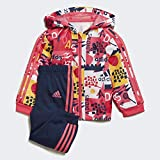 adidas Baby-Jungen i Shiny Fz HD J Trainingsanzug, rosrea, 68