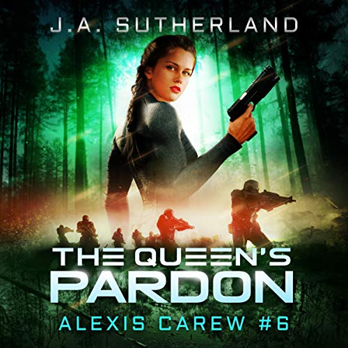 The Queen's Pardon     Alexis Carew, Book 6              By:                                                                                                                                 J.A. Sutherland                               Narrated by:                                                                                                                                 Elizabeth Klett                      Length: 14 hrs and 1 min     8 ratings     Overall 5.0