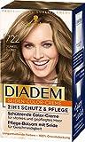 Diadem Seiden-Color-Creme, Haarfarbe 722 Dunkelblond Stufe 3, 3er Pack(3 x 170 ml)