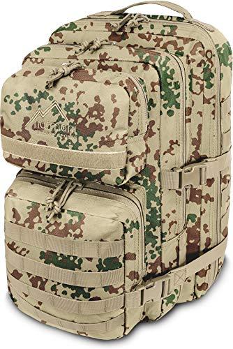 normani US Assault Cooper Pack Large Rucksack im Military Style Farbe Tropentarn Größe 50 Liter