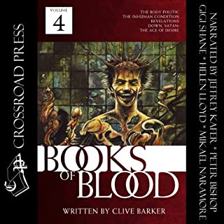 The Books of Blood: Volume 4 audiobook cover art