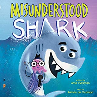 Misunderstood Shark audiobook cover art
