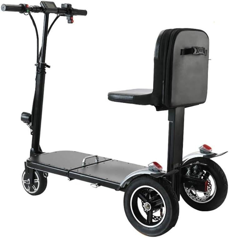 ZHANGCHUNLI Patinete 3 Ruedas Scooter para Niños Altura Ajustable Kick Plegable de Aluminio Adulto 28 kilometros de la Ciudad Vespa del Viajero de Crucero Rango