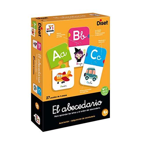 Diset-El Abecedario Juego Educativo, Multicolor (68963)
