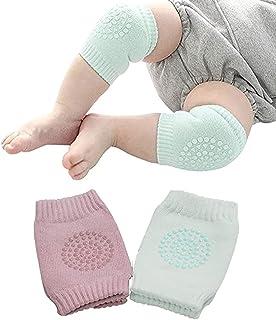 Rodilleras Para Bebé de Protección Para Aprender a Gatear, Antiderrapantes Para Niño y Niña, Bebés, Cubre Rodillas o Codos...