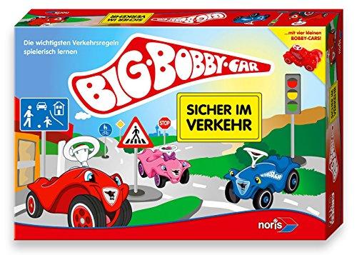 Noris 606010095 - BIG-BOBBY-CAR - Sicher im Verkehr, Kinderspiel