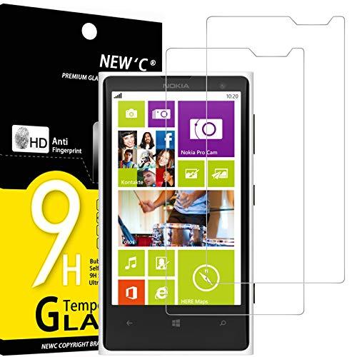 NEW'C 2 Unidades, Protector de Pantalla para Nokia Microsoft Lumia 1020, Antiarañazos,...