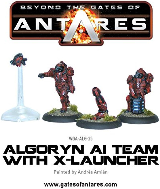 Antares - Algoryn Al-Team mit X- Laucher - Wargaming - Warlord Games B00RBKSGSK Neuer Stil  | Einfach zu spielen, freies Leben