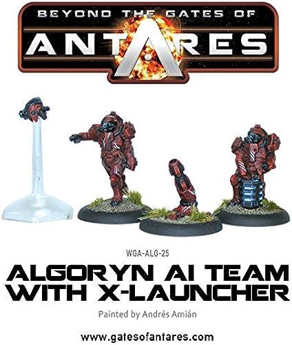 Antares - Algoryn Al-Team mit X- Laucher - Wargaming - Warlord Games