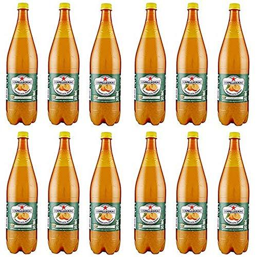 12x San Pellegrino PET Flasche Dose 1.25L Aranciata Amara Limonade Bitteroange