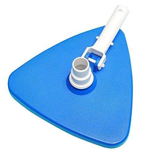 well2wellness® Poolsauger Bodensaugerbürste Dreieck - speziell für eckige Becken