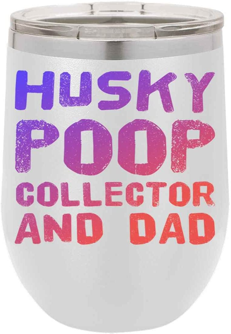 HUSKY Max 76% OFF POOP COLLECTOR AND DAD Long Beach Mall For Anniversa Birthday 27c Present