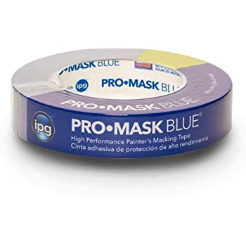 """IPG PMD24 ProMask Blue, 14-Day Painter's Tape, 0.94"""" x 60 yd, (Single Roll)"""