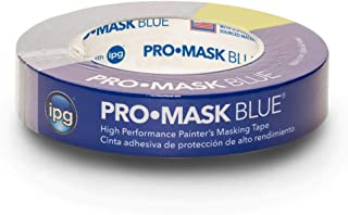 """IPG ProMask Blue, 14-Day Painter's Tape, 0.94"""" x 60 yd, Blue, (Single Roll)"""