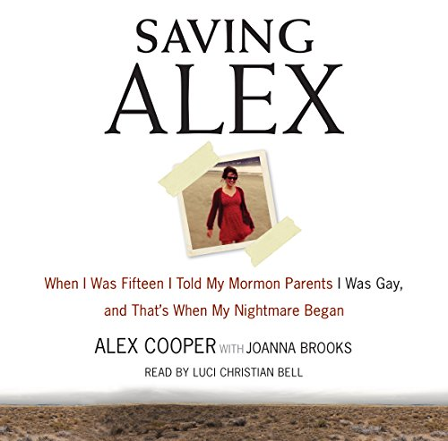 Page de couverture de Saving Alex