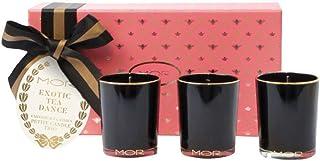 MOR Boutique Exotic Tea Dance Petite Candle Trio, 705 ml