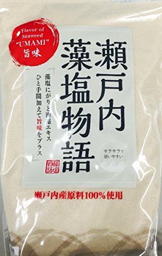 朋和商事 海人の藻塩 瀬戸内藻塩物語 1kg