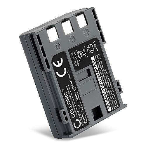 CELLONIC® Batería de Repuesto NB-2L NB-2LH BP-2L5 per Canon EOS 400D EOS 350D EOS Digital Regel XTi PowerShot G7 G9 S50 HG10 HF R16 R106 MD235 VIXIA HV30 ZR800, 700mAh Accu Sustitución Camara, Battery