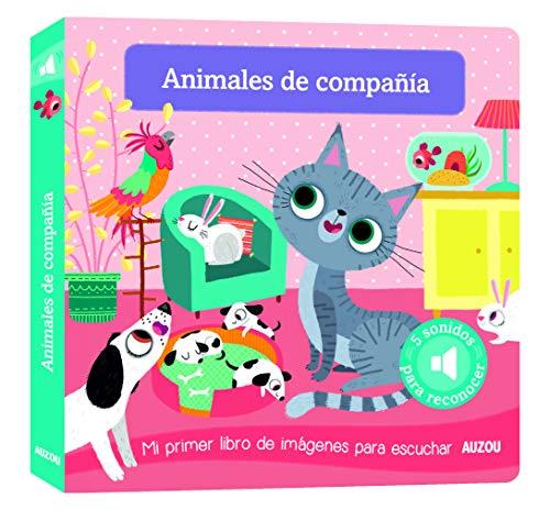 Libro de sonidos. Animales de compañía