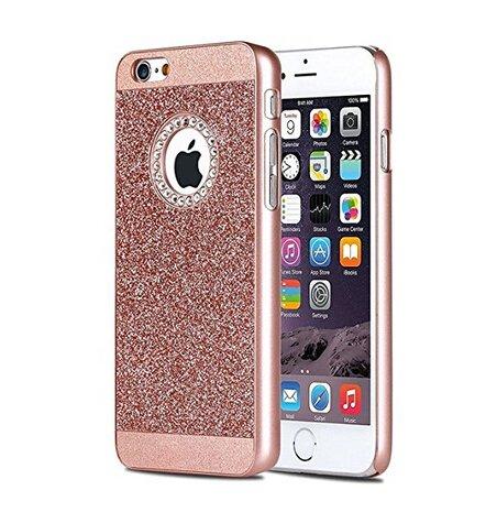 IKASEFU iPhone 7 Plus Case,Cool Glitter Bling Sparkle Shiny Diamond Hard PC Back Protective Glitter Case Cover for iPhone 7 Plus 5.5